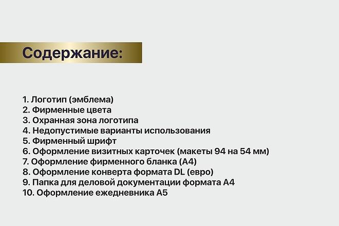 Разработка brand book 10 - kwork.ru