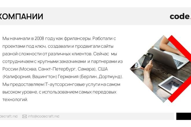 Красиво, стильно и оригинально оформлю презентацию 16 - kwork.ru