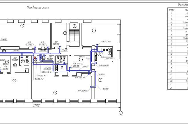 Проектирование вентиляции 12 - kwork.ru