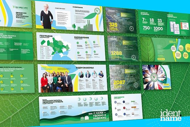 Разработаю маркетинг-кит компании - продающую презентацию 3 - kwork.ru