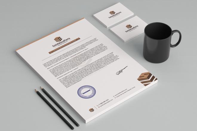 Создам фирменный стиль бланка 58 - kwork.ru