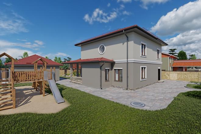 Фотореалистичная 3D визуализация экстерьера Вашего дома 59 - kwork.ru