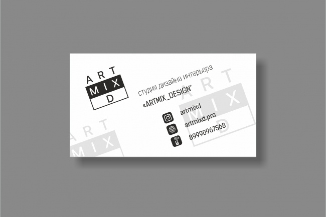 Дизайн визитки 95 - kwork.ru