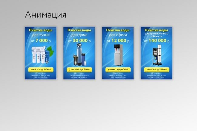 Создам 1-3 статичных баннера + исходники в подарок 71 - kwork.ru