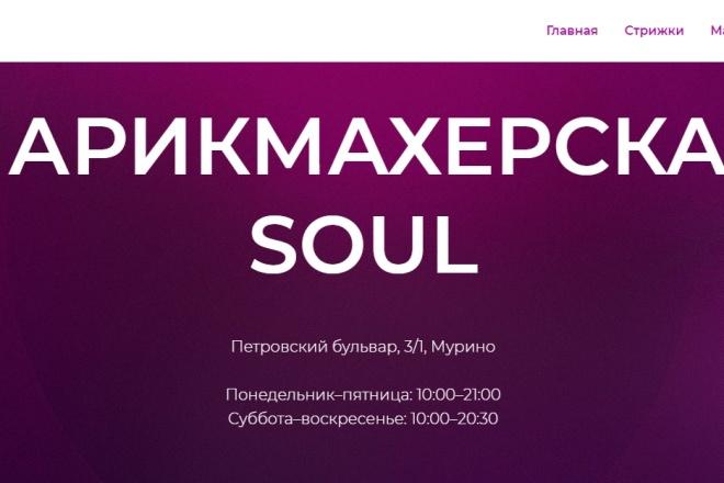 Создам лендинг на платформе Тильда 9 - kwork.ru