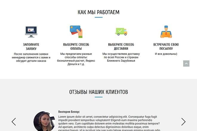 Сайт под ключ. Landing Page. Backend 227 - kwork.ru