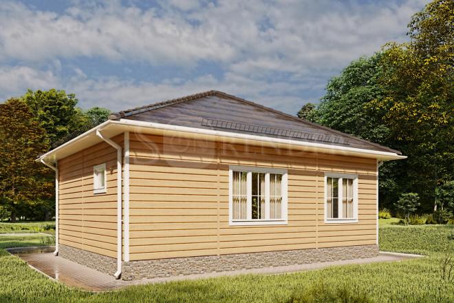 Фотореалистичная 3D визуализация экстерьера Вашего дома 38 - kwork.ru