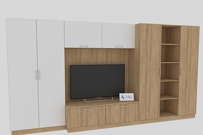 Визуализация мебели, предметная, в интерьере 13 - kwork.ru