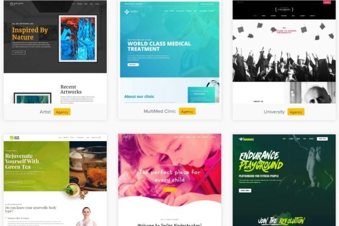 ПАК 1000 шаблонов и дополнений для WordPress 19 - kwork.ru