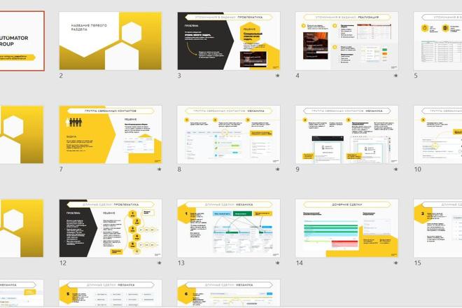 Бизнес-презентация, инвестиционная презентация, презентация стартапа 8 - kwork.ru
