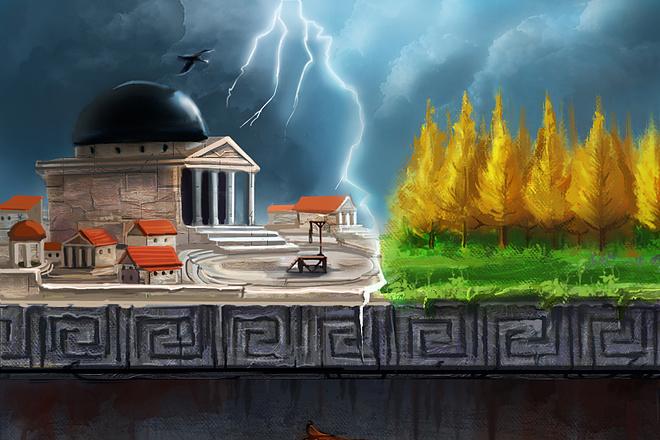 Иллюстрация в стиле фэнтези 3 - kwork.ru