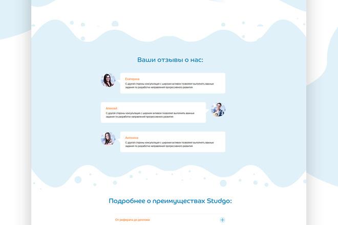 Разработаю качественный, продающий сайт на конструкторе Тильда 1 - kwork.ru