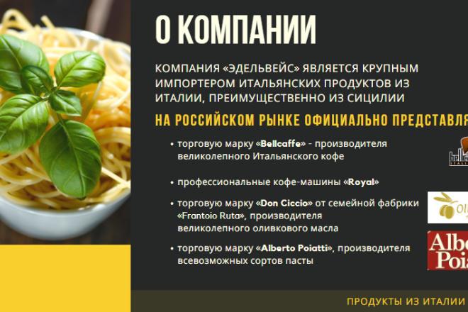 Стильный дизайн презентации 332 - kwork.ru
