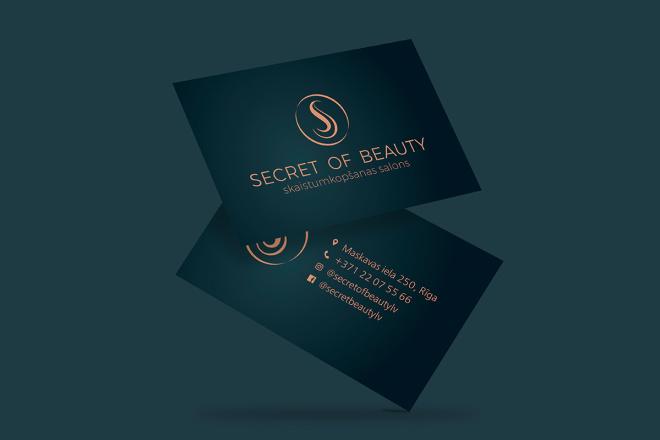 Дизайн визитки с исходниками 88 - kwork.ru