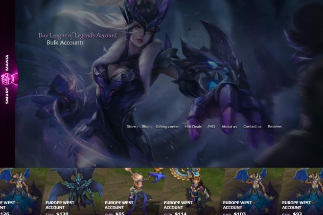 Дизайн страницы сайта в PSD 18 - kwork.ru