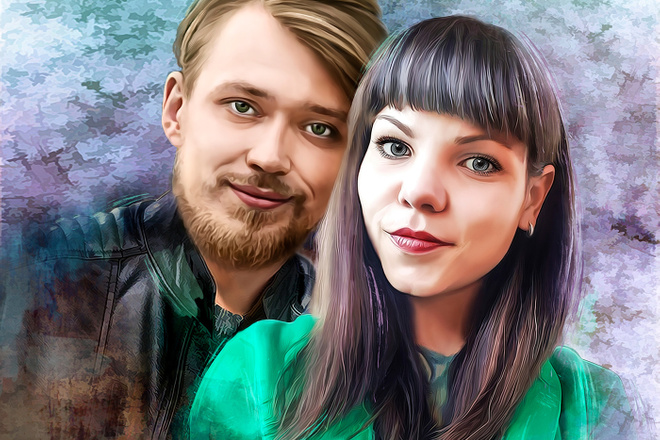 Создам стилизованный цифровой портрет 26 - kwork.ru