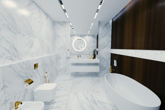 Дизайн ванной комнаты 3 - kwork.ru