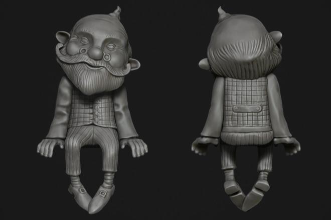 Создам 3D модель для печати или чпу 30 - kwork.ru