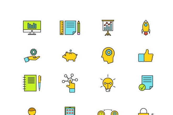 Набор инфографики. 13 тематик, 800 шаблонов, 2 пакета иконок 37 - kwork.ru