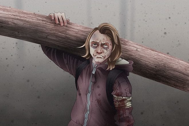 Иллюстрационный портрет по фотографии в стилях Манга или Аниме 5 - kwork.ru
