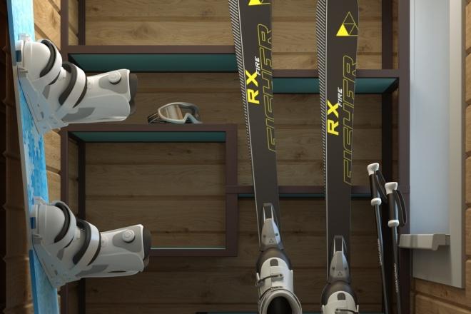 3D визуализация интерьера 3 - kwork.ru