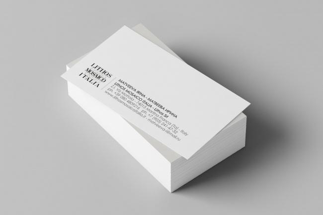 Качественно дизайн визитки+исходник 17 - kwork.ru