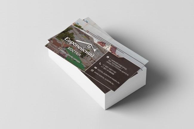 Качественно дизайн визитки+исходник 15 - kwork.ru