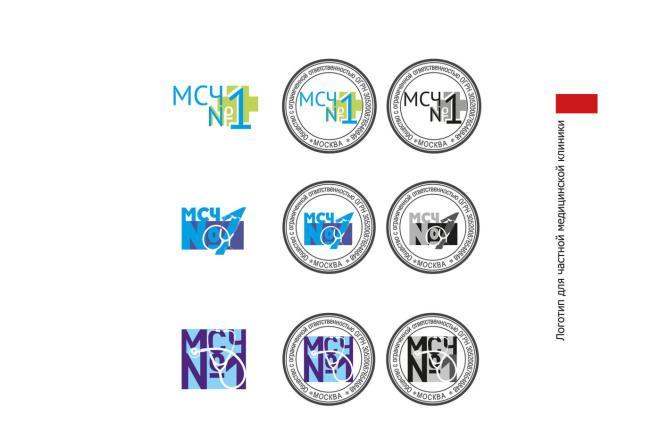 Разработка логотипа 8 - kwork.ru