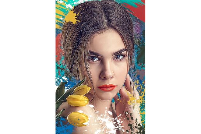 Дрим Арт портрет 67 - kwork.ru