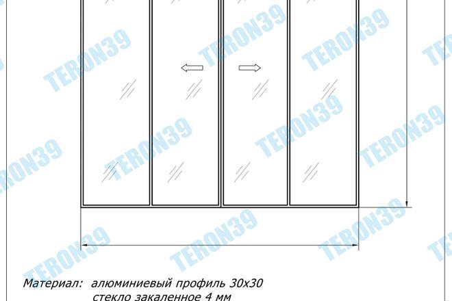 Выполняю простые и сложные чертежи в AutoCAD 25 - kwork.ru