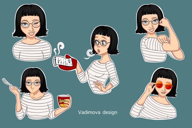 Стикеры 22 - kwork.ru