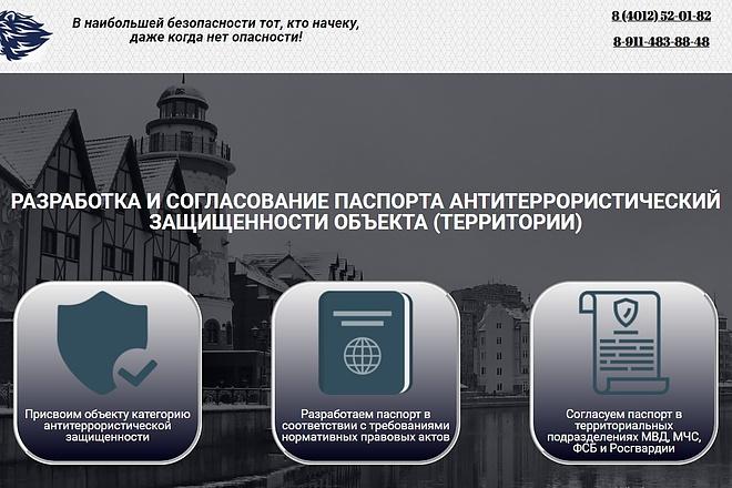 Создам лендинг на вордпресс быстро 20 - kwork.ru