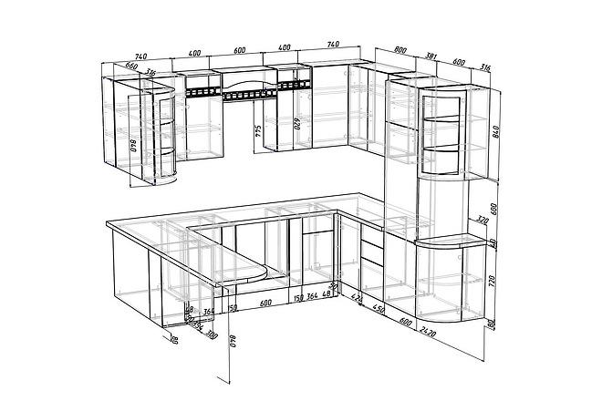 Конструкторская документация для изготовления мебели 67 - kwork.ru