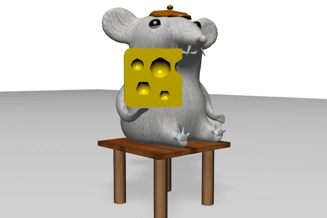3D модель 3 - kwork.ru