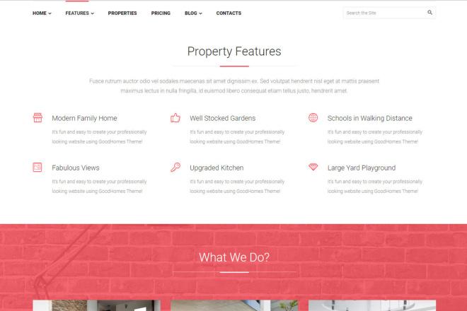 Wordpress сайт недвижимости, аренды квартир, агентства 6 - kwork.ru