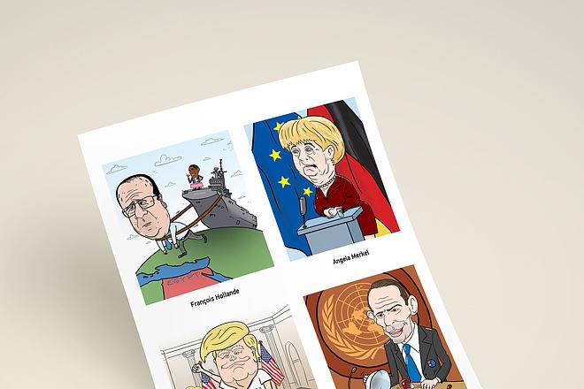 Нарисую для Вас иллюстрации в жанре карикатуры 128 - kwork.ru