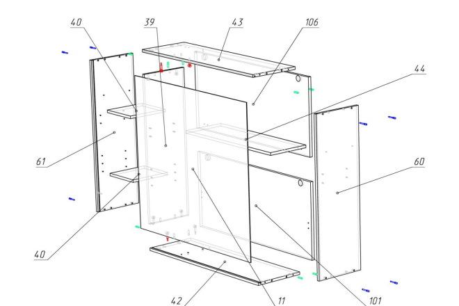 Конструкторская документация для изготовления мебели 38 - kwork.ru