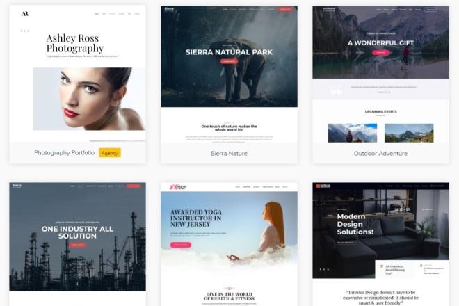 ПАК 1000 шаблонов и дополнений для WordPress 21 - kwork.ru