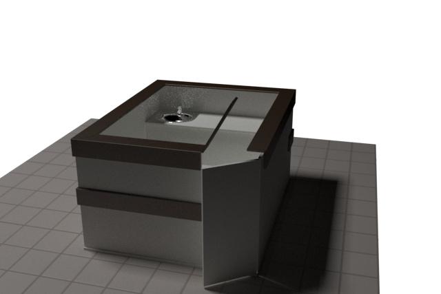 3D модель и визуализацию торгового места 43 - kwork.ru