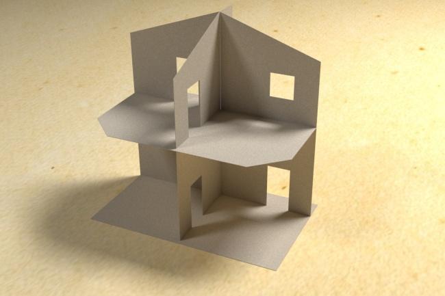 3D модель и визуализацию торгового места 38 - kwork.ru