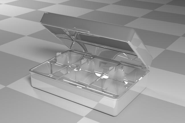 3D модель и визуализацию торгового места 36 - kwork.ru