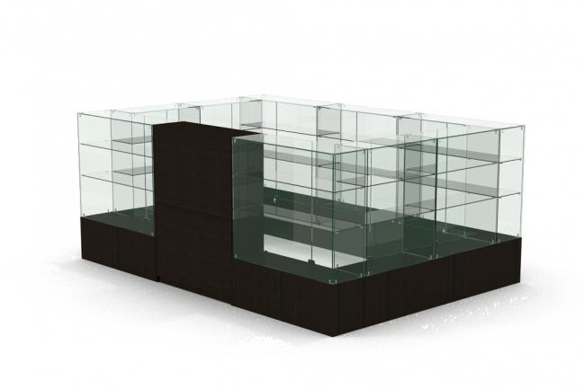 3D модель и визуализацию торгового места 34 - kwork.ru