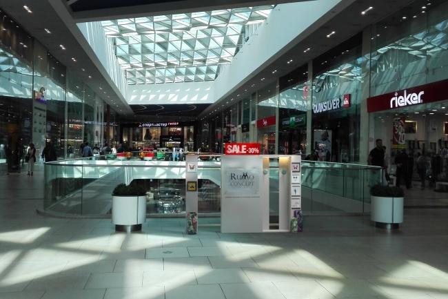 3D модель и визуализацию торгового места 28 - kwork.ru