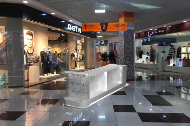 3D модель и визуализацию торгового места 27 - kwork.ru