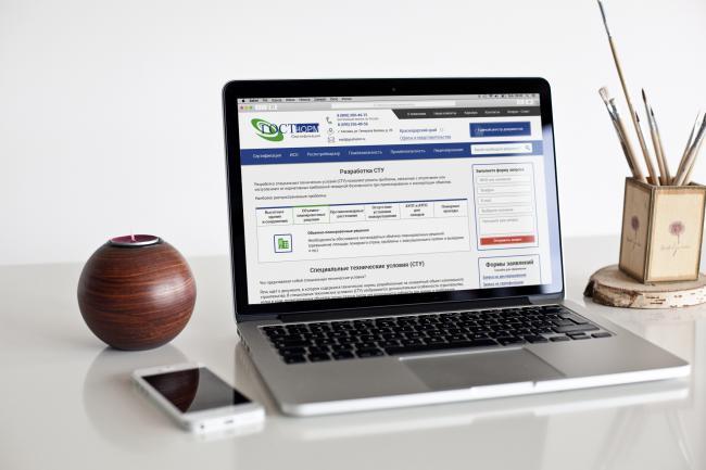 Создам дизайн страницы сайта 74 - kwork.ru