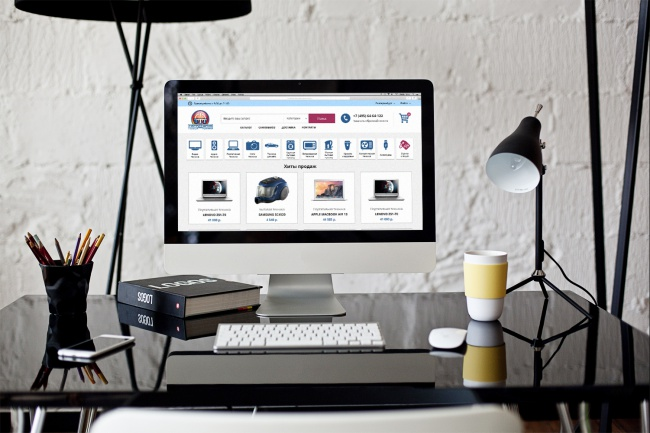 Создам дизайн страницы сайта 73 - kwork.ru
