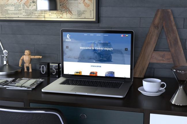 Создам дизайн страницы сайта 72 - kwork.ru
