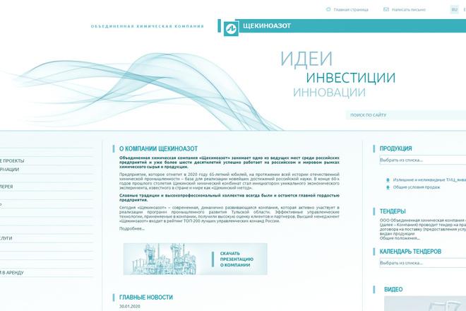 Скопирую почти любой сайт, landing page под ключ с админ панелью 34 - kwork.ru