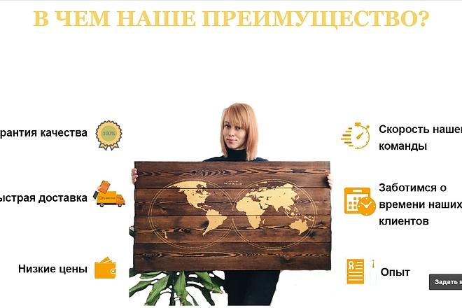 Создание сайта - Landing Page на Тильде 58 - kwork.ru