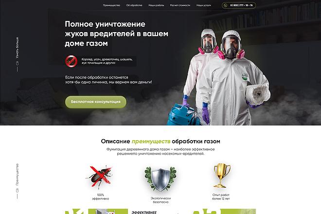 Дизайн страницы сайта 88 - kwork.ru